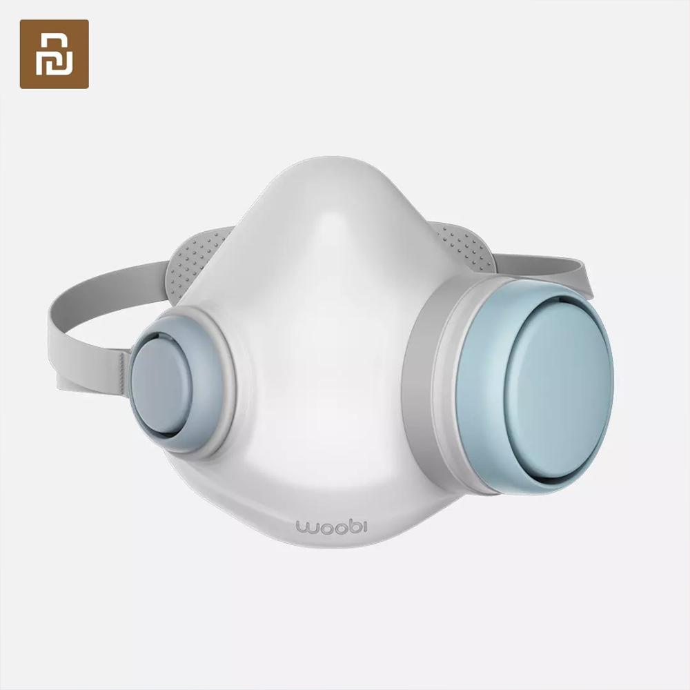 In Stock Fast shipping For Youpin Woobi Face Masks hepa filter Clean Breathing Block Dust PM2.5 Haze Anti-Pollution Masks