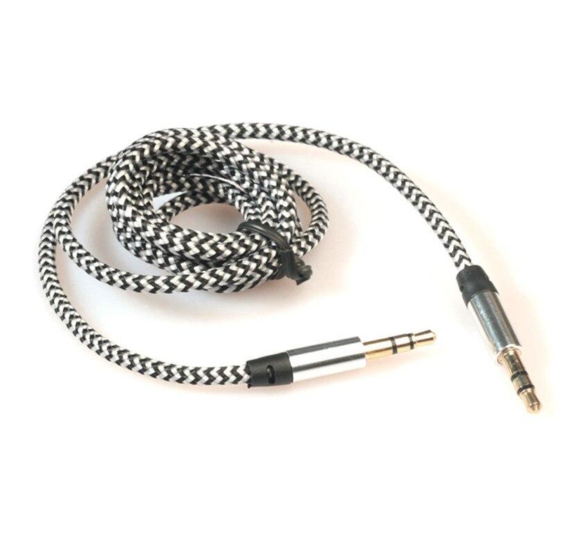 3,5 мм стерео автомобильный вспомогательный аудио кабель папа-папа для смартфона Aux вспомогательный звук стерео аудио данных 3,5 мм кабель 909 - Название цвета: D