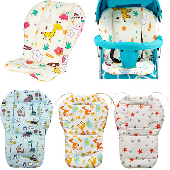 Universal Car Stroller Seat Covers Auto Soft Thick Pram Cushion Car Seat Pad Covers for Baby Kids Children Stroller Accessories universal auto car seat cover auto front rear chair covers seat cushion protector car interior accessories 3 colors