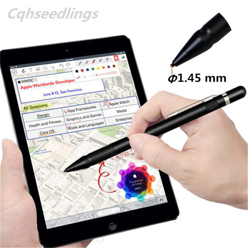 High Precision Stylus Pencil For Apple Ios Metal Nib Tablet Touch Pen Capacitive Screen Drawing Writing For Android For Samsung