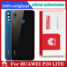 Original Back Housing Replacement for HUAWEI P20 LITE Back Cover Battery Glass with Camera Lens adhesive Sticker P20 Lite