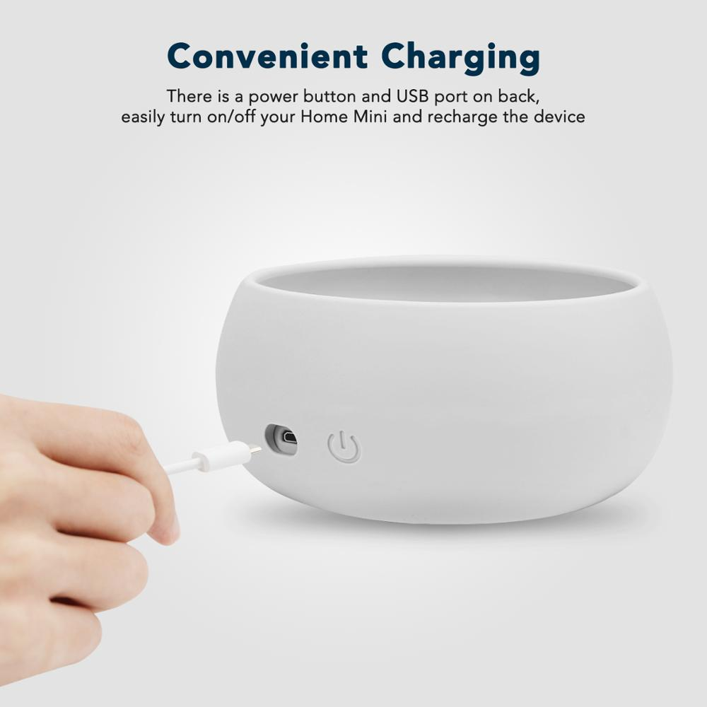 Image 2 - KIWI design Rechargeable Battery Base for Google Home Mini Smart Speaker, 7800mAh Portable Power Charger Protective HolderBattery Accessories   -