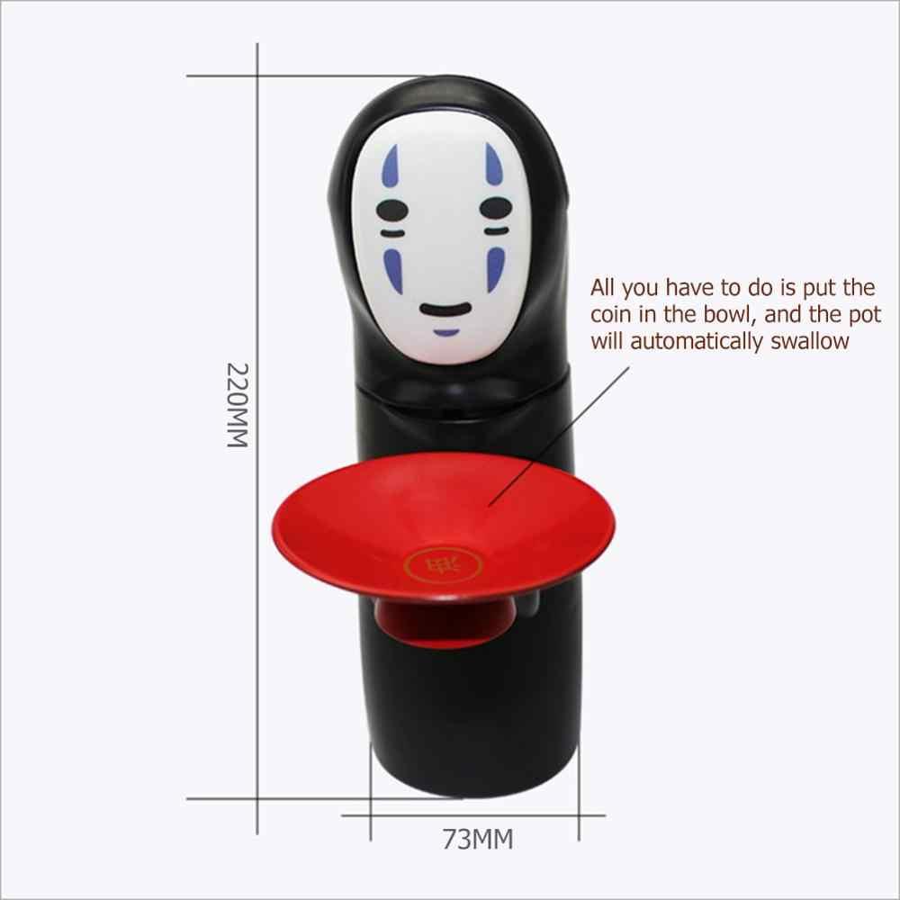 המסע מופלא Kaonashi לא-פנים איש תיבת כסף פיגי בנק צעצוע אוטומטי לאכול מטבע בנק מיאזאקי הייאו Chihiro עיצוב ילדי מתנות