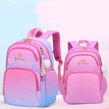 Weysfor Baby Girls School Bag Kids Satchel Primary school backpack princess Orthopedic Backpack schoolbag kids Mochila Infantil 1