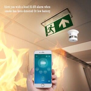 HAOZEE Heiman Z-wave Plus датчик дыма умный дом версия ЕС 868,42 МГц Z волновой детектор дыма питание от аккумулятора 4 шт./лот
