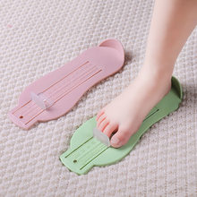 Baby foot measuring device Children's shoes measuring foot length ruler shoe size 0-8 years old buy shoes artifact home(China)