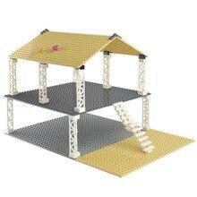 Çift taraflı taban plakası 32*32 32*16 noktalar klasik küçük tuğla taban plakası yapı taşları ile uyumlu lego inşaat oyuncakları