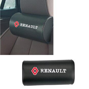 Car Neck Protection Pillow Seat Head Rest Pillows for Renault Logo Laguna 2 Duster Captur Fluence Kadjar Scenic Espace Frendzy