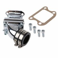 DIO50 Performance Intake Manifold For 2 Stroke AF18/27/28 Elite Spree Motorcycle Modification Accessories цена