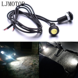 For Honda CBR600 F2 F3 F4 F4i VTX1300 CB R650F 650F Eagle Eye LED Reverse Backup Light Daytime Running Signal Motorcycl Lamp