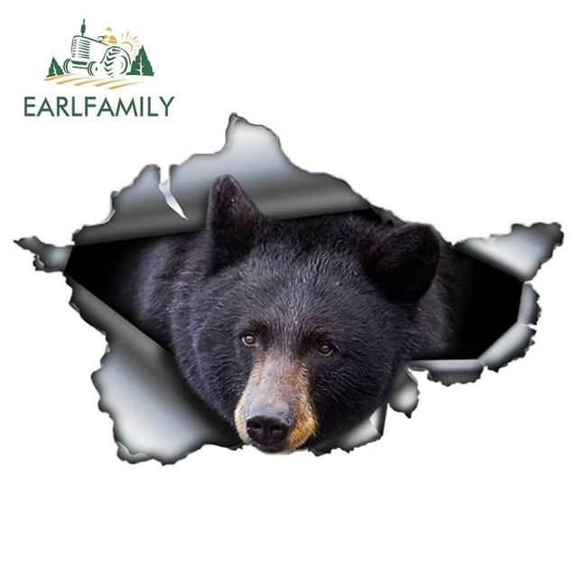 Bear Sticker Decal Sticker Art