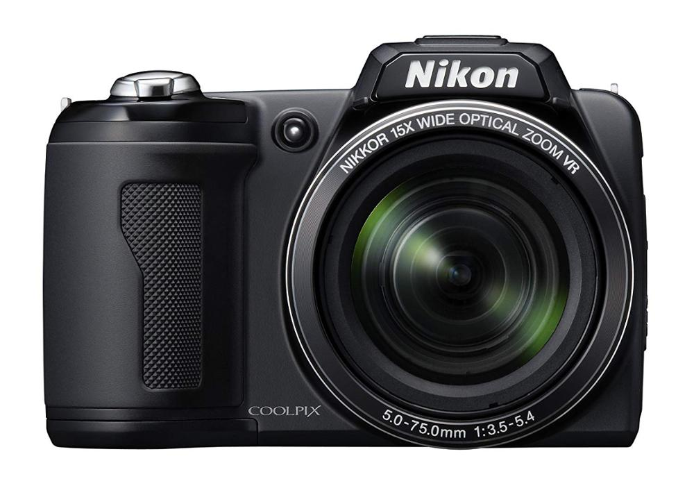 USED Nikon Coolpix L110 12.1MP Digital Camera With 15x Optical Vibration Reduction (VR) Zoom And 3.0-Inch LCD