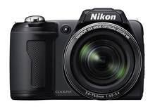 Nikon – appareil photo numérique Coolpix L110 d'occasion, avec Zoom 15x, réduction des vibrations optiques (VR) et LCD 3.0 pouces