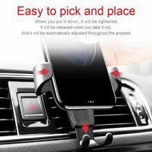 Bracket-Stand Cradle-Holder Car-Phone-Mount Phone-R1z9 Adjustable Gravity Universal in