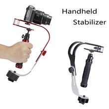 Stabilisateur vidéo portable caméra Steadicam stabilisateur pour Canon Nikon Sony caméra Gopro Hero téléphone DSLR DV stabilycam accessoires