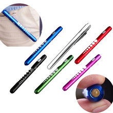 High quality Medical First Aid LED Pen Light Flashlight Torch Doctor Nurse EMT Emergency afety & Survival(China)