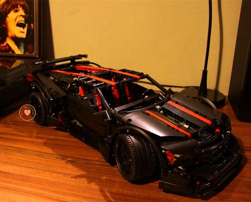 NEW Assassin X19 MOC Fit Technic Racing Car Model Car Building Block Bricks Toy Boys Gift