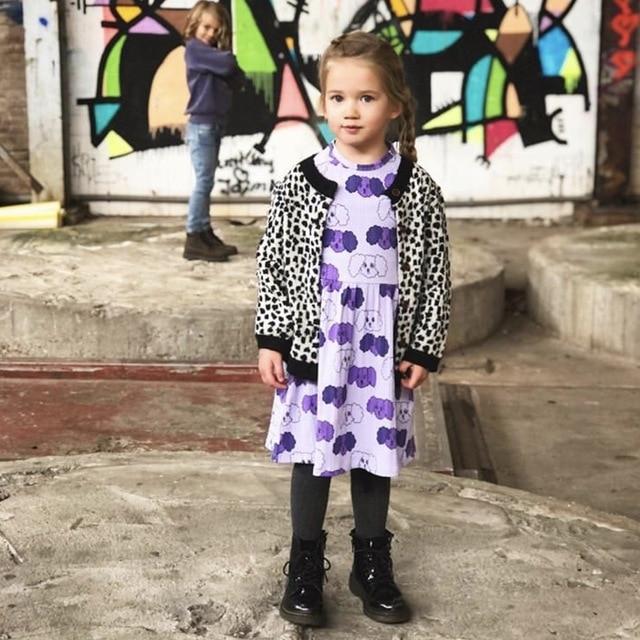 Kids Clothes Sets T-shirts 2021 New Spring MR Brand Girls Cartoon Pattern Dress Cotton Fashion Baby Romper Boys Casual Pants 3