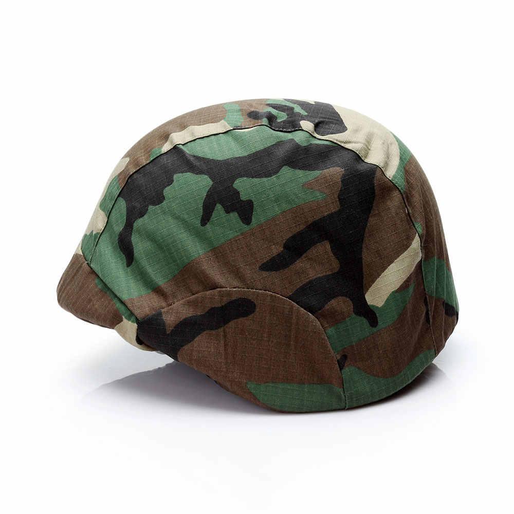 Cường Lực Cao Cấp Mũ Bảo Hiểm Bảo Vệ Mũ Bảo Hiểm Quân Đội Bao Vải Bóng Sơn Mũ Bảo Hiểm Airsoft Cosplay Chiến Thuật Mũ Bảo Hiểm Cho M88