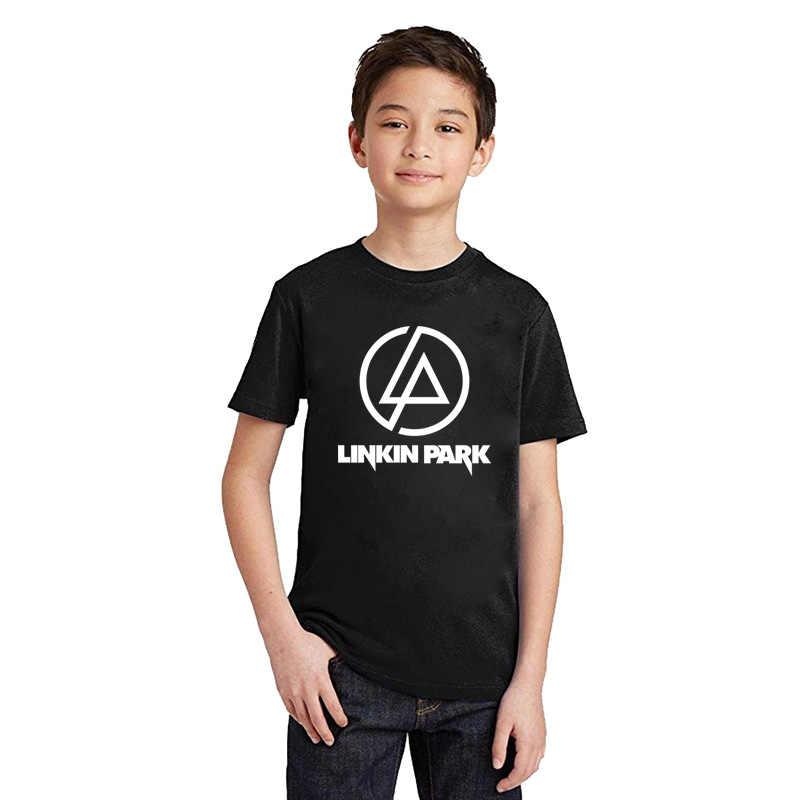 LYTLM T Shirt dzieci chłopcy Rock N Rock chłopiec koszulki dla dzieci Linkin Park odzież Tee Shirt Enfant Garcon Streetwear Hip hop chłopcy Tshirt