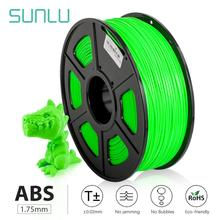 SUNLU ABS high temp 3D printer filament for Industrial printers 3D model printing 100% no bubble