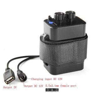 Image 5 - لتقوم بها بنفسك 6x18650 صندوق تخزين البطارية USB 12 فولت امدادات الطاقة للهاتف LED راوتر