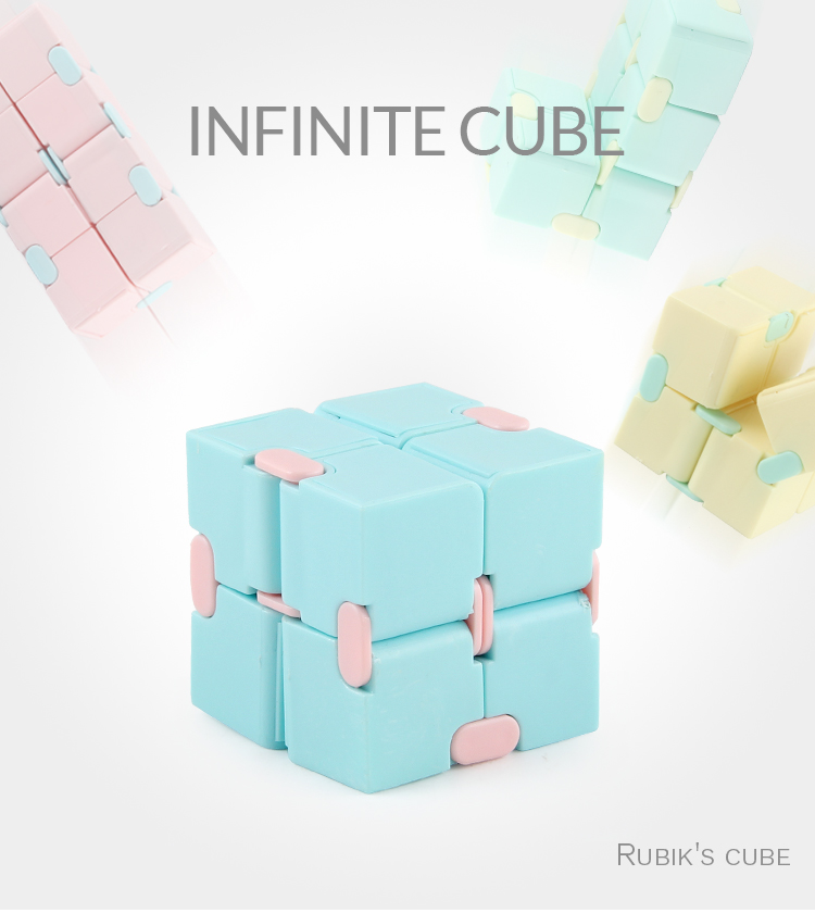 2021 Antistress Infinite Cube Infinity Cube Cube Office Flip Cubic Puzzle Stress Reliever Autism Toys Relax Toy For Adults Gift img5