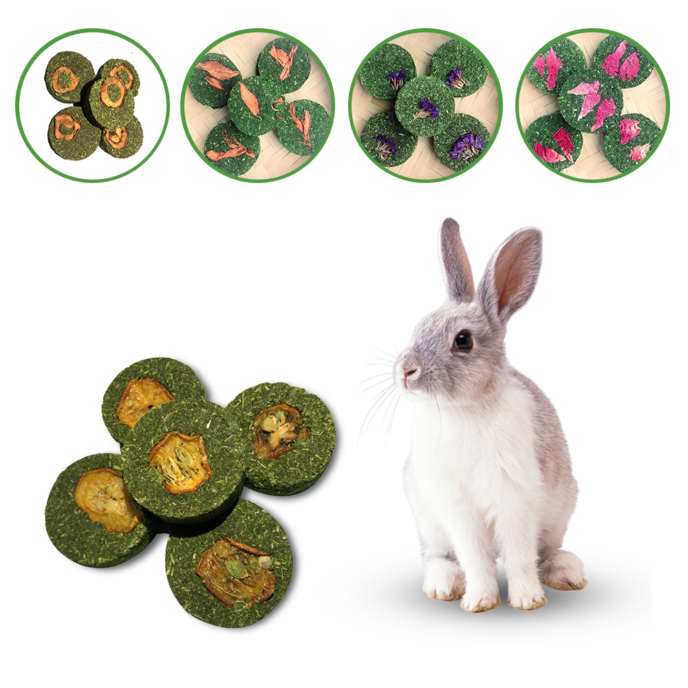10pcs Small Pets Hamster Grinding Teeth Cake Cookie Animals Rabbit Chinchilla Guinea Pig Molar Chew Play Toy 8 Types 4