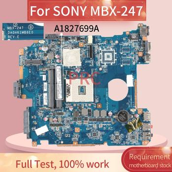 A1827699A For SONY MBX-247 Notebook Mainboard DA0HK1MB6E0 HM65 DDR3 Laptop motherboard 1