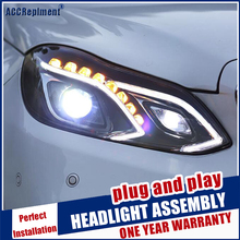 Auto Part Style LED Head Lamp for Benz E180L E200L E260L E300L led headlights 2015 FOR E class drl H7 hid Bi-Xenon Lens low beam free shipping for china vland car head lamp for lancer led headlight with a5 style drl h7 xenon lamp 2008 2012 2015