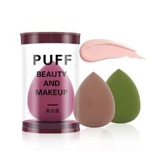 1pcs Cosmetic Puff Water Drop Sponge Makeup Blending Tools Foundation Sponge for Beauty Sponge Grow Bigger In Water A Free Box