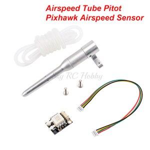 APM PX4 Airspeed трубка Pitot труба цифровой датчик скорости воздуха для APM2.6 APM2.8 Pixhawk FPV RC модель самолет с неподвижным крылом