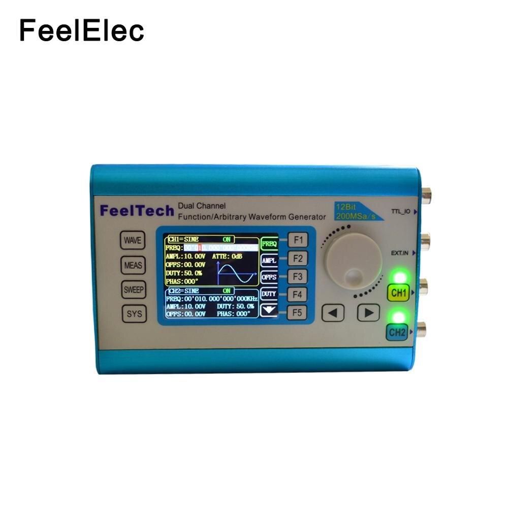 FY2300 20Mhz numérique DDS double canal multifonction haute précision générateur de Signal Source forme d'onde arbitraire/impulsion