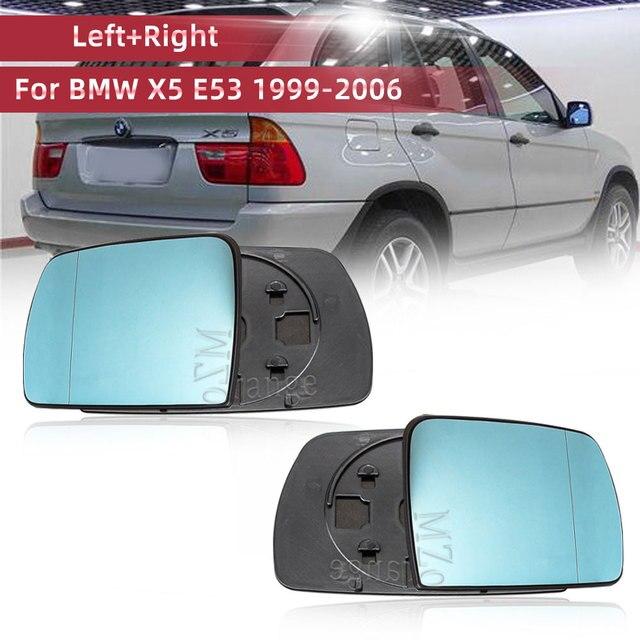 Calefactor para espejo retrovisor de puerta lateral izquierdo y derecho, calefactable para BMW X5 E53 2013 2016 3.0i 4.4i