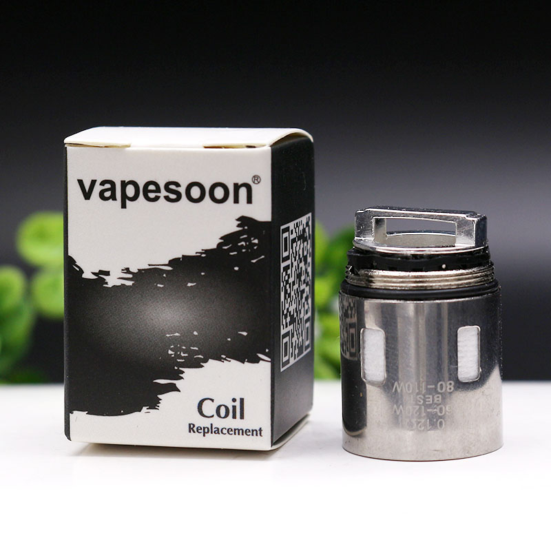Vapesoon V12 Prince-M4/Q4/X6/T10 Coil Head Atomizer Core For SMOK TFV12 Prince Tank Fit Mag 225w TC Kit Etc