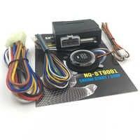 1 stücke 12V Auto Alarm Auto Motor Push Start-Taste RFID Schloss Zündung Starter Keyless-Entry-Start Stop Anti -diebstahl System