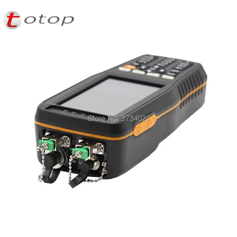 TM70B-OV1 PON Optical Power Meter With 1mw VFL And Optical Power Meter For EPON GPON XPON OLT-ONU 850/1300/1310/1490/1550/1625nm