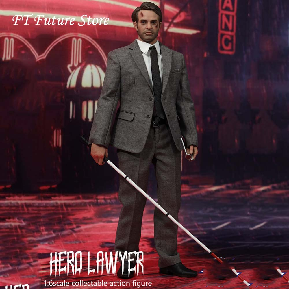 In Stock Collectible 1/6 Scale SST013 Hero Lawyer Full Set Male Action Figure Model for Fans Holiday Gifts image
