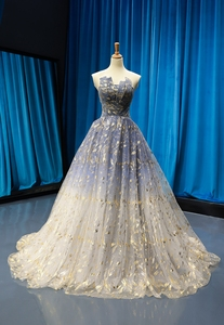 Image 1 - Vestido de noiva sem mangas vestido de noiva vestido de baile pequeno trailing vestido de dama de honra vestido de novia