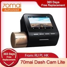 70mai kamera na deskę rozdzielczą Lite nowa wersja 1080P 130FOV widzenie w nocy 24H Monitor do parkowania zaawansowane System wspomagający rejestrator jazdy
