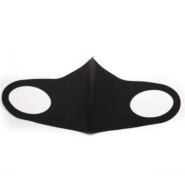 Black Mouth Mask Anti Dust Mask PM2.5 Activated Carbon Filter Windproof Bactea Proof Flu Face Masks Care Safety Mask for Dust 3