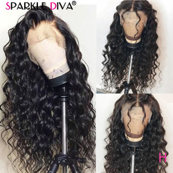 360 Lace Frontal Wig Pre Plucked Brazillian Loose Deep Wave Human Hair Wigs 150% Remy Hair 13*4 Lace Front Human Hair Wigs