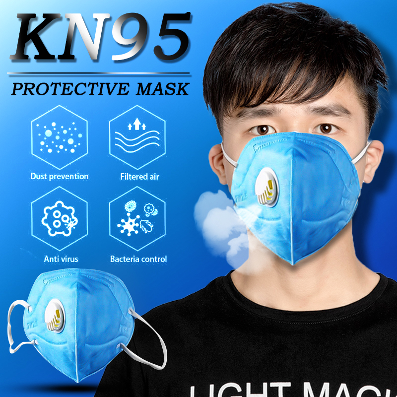 Reusable Masks KN95 Mouth Mask Anti Pollution Dust Cotton Unisex Face Mask Mouth Muffle Anti Ffp2 Dust Gas Mask