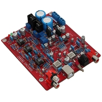 USB DAC Decoder Board AD1955 +WM8805+PCM2706+AD827 Optical Fiber Coaxial Solid Capacitor for Amplifier Board