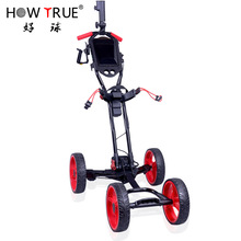 Golf Cart Electric Four Wheel Cart Trolley One Folding Function Golf Cart