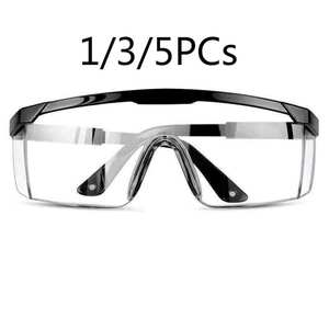 Eyewear Goggles Spectacles-Protection Safety-Glasses Work-Lab 1/3/5pcs