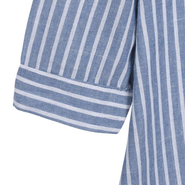 Striped Pregnant Maternity Dress for Women 6