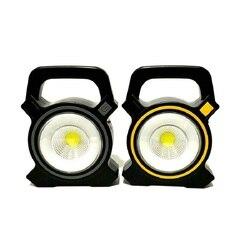 Lampe portative portative portative de tente de lanterne USB Rechargeable 30W COB lampe de poche LED solaire 2 modes lampe d'inspection de travail d'urgence