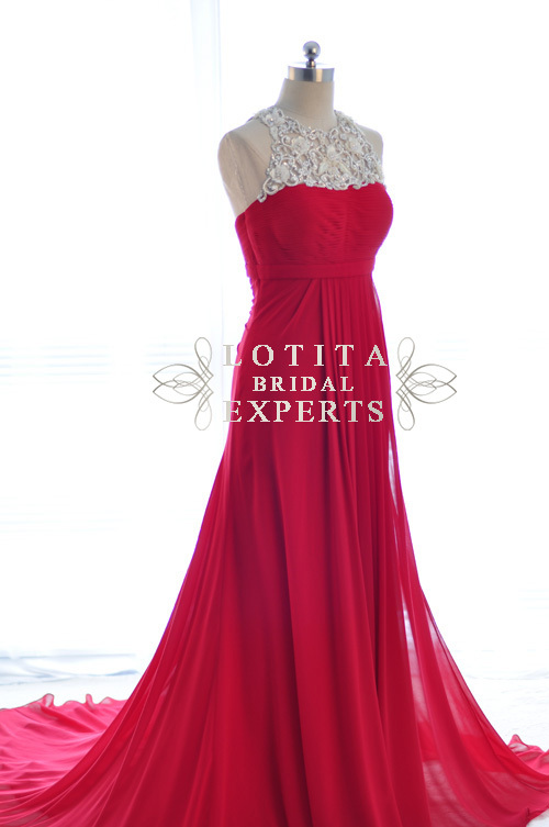 robe de soiree 2018 new hot&sexy vestido de festa beading long formal evening party gown elegant mother of the bride dresses