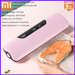 Кухонный вакуумный упаковщик XIAOMI MIJIA, устройство для сохранения пищи, Электрический домашний вакуумный упаковщик Xiomi, в комплекте 10 пакетов ...